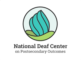 logo of National Deaf Center on Postsecondary Outcomes